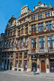 Houses in Brussels Royalty Free Stock Image