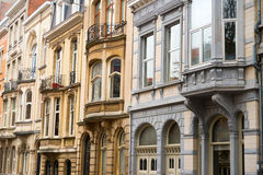 Houses in Brussels Royalty Free Stock Images