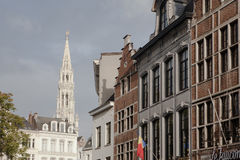 Houses in Brussels Stock Photo