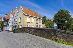 Houses Buildings Bruges Belgium Royalty Free Stock Image