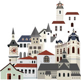 Houses and buildings 01 Royalty Free Stock Photography