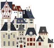 Houses and buildings 02 Royalty Free Stock Images