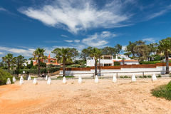 Houses and buildings in Wolf Valley (Vale do Lobo), Algarve Stock Photos