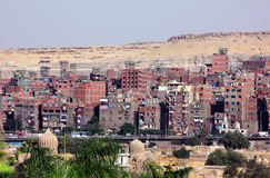 Houses in cairo in egypt  Royalty Free Stock Photo