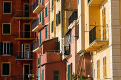 Houses in Camogli Stock Photo