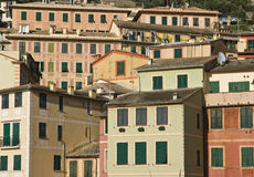 Houses of Camogli Royalty Free Stock Photo