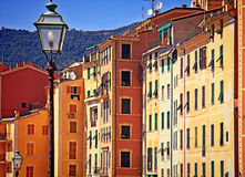 Houses in Camogli Stock Photography