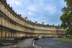 Houses Circus in Bath, Somerset, England Stock Photo