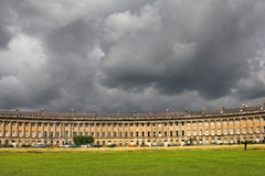 Houses Circus in Bath, Somerset, England Stock Image
