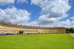 Houses Circus in Bath, Somerset, England Royalty Free Stock Photo