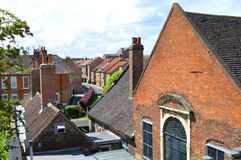 Houses in the city centre of York Stock Photos