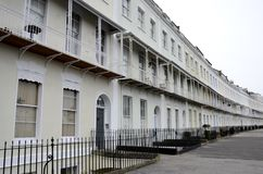 Houses from Clifton Stock Image
