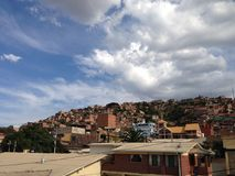 Houses in Cochabamba Stock Images