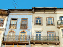 Houses of Coimbra stock image