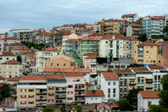 Houses of Coimbra, Portugal Royalty Free Stock Photo