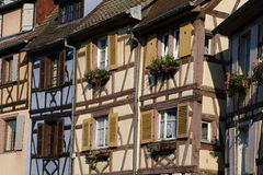 Houses of Colmar Stock Photo