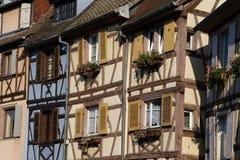 Houses of Colmar Stock Photo