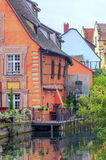 Houses in Colmar Stock Photography