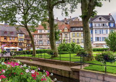 Houses in Colmar, Alsace, France Royalty Free Stock Images