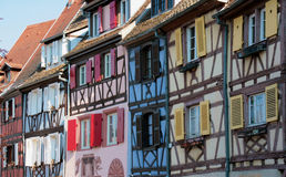 Houses in Colmar, France Royalty Free Stock Image