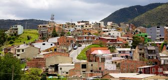 Houses in Colombia Stock Photo