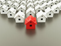 Houses concept Stock Photography