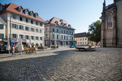 Houses in Constance Stock Photography