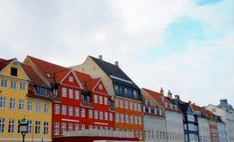 Houses in Copenhagen Stock Photography