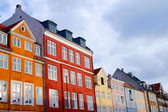 Houses in Copenhagen Royalty Free Stock Photography