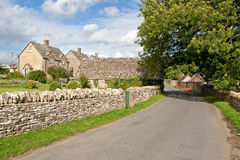 Houses in Cotswolds England Royalty Free Stock Photos