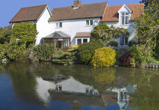Houses cottages Royalty Free Stock Photography