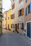 The houses in Croatia Royalty Free Stock Photo