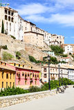 Houses in Cuenca Royalty Free Stock Photography