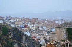 Houses of Cuenca, Spain Stock Photos