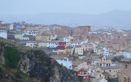 Houses of Cuenca, Spain Royalty Free Stock Images