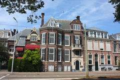 Houses in Den Haag Stock Photo
