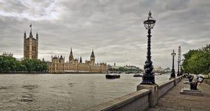 houses den london parlamentet Royaltyfri Bild