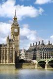 houses den london parlamentet Arkivfoton