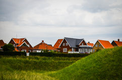 Houses in Denmark Royalty Free Stock Images