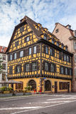 Houses in the district of La Petite France in Strasbourg Stock Images