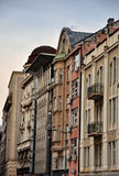 Houses in downtown. Closeup look,old houses in Belgrade Stock Images
