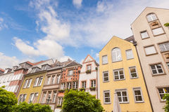 Houses in Dusseldorf Stock Image