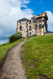 Houses Edinburgh in Scotland, UK Royalty Free Stock Images