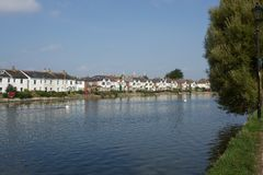 Houses at Emsworth, England Royalty Free Stock Photos