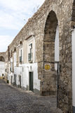 Houses in evora Royalty Free Stock Images