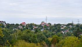 houses förorts- Arkivbild