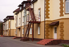 Houses facades Royalty Free Stock Images