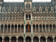 Houses of the famous Grand Place Royalty Free Stock Images