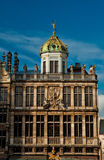 Houses of the famous Grand Place Royalty Free Stock Image