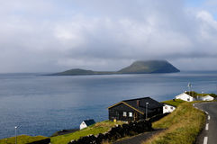 Houses in Faroe Islands Stock Image